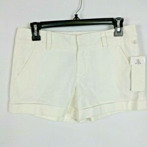 French Connection NWT Shorts 4 Rolled Cuff Pockets